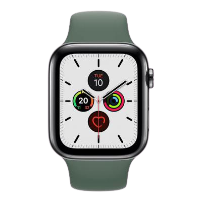 watch series 5 44mm stainless steel gps and cellular
